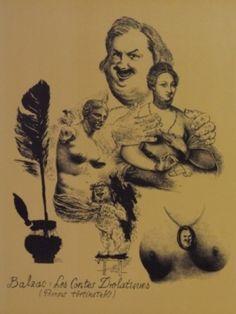 Gyulai Líviusz: Balzac illúsztráció I. Movies, Movie Posters, Art, Art Background, Films, Film Poster, Kunst, Cinema, Movie