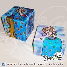 """Cajas Mágicas """"Minutas"""" www.facebook.com/Yakarte"""