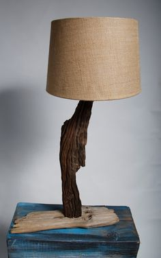 Driftwood Lamp by CEDARSTACKER on Etsy