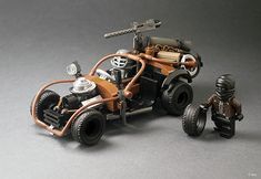 The 'Mad Max - Fury Road' creations keep on coming, and this one is our favourite for a quick trip to Walmart. We don't think there would be any fighting over parking spaces with this... TLCB regul...