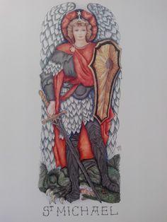 San Miguel Arcangel Archangel, Art, San Miguel, Art Background, Kunst, Gcse Art