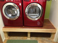 washer and dryer stands. Simple But Beautiful Washer/dryer Stand 😍 | Bathroom \u0026 Laundry Room Pinterest Washer, And Rooms Washer Dryer Stands O