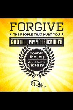 Forgive Joel Osteen