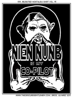 Nien Nunb is my Co-Pilot
