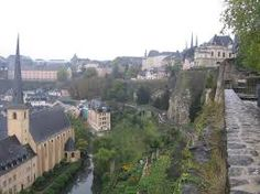Luxembourg - capital city of Luxembourg