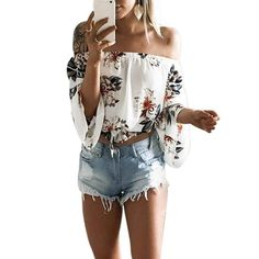 Check this out on my store : Floral Print Off Shoulder Chiffon Blouse Women Tops Halter Cool Long Sleeve http://periwinklefashion.com/products/floral-print-off-shoulder-chiffon-blouse-women-tops-halter-cool-long-sleeve-female-blouse-shirt-sexy-loose-white-blusas?utm_campaign=crowdfire&utm_content=crowdfire&utm_medium=social&utm_source=pinterest
