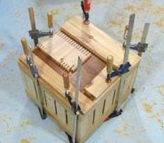 Milk crate inspired wooden boxes Milk Crates, Pallet Fence, Wooden Boxes, Woodworking Plans, Wood Projects, My Favorite Things, Diy And Crafts, Alice, Inspired