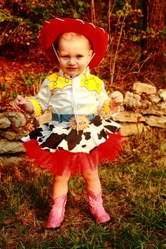 Toy Story Jessie Costume with skirt Hand Made Made by WitchMummy, $70.00