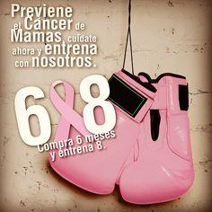 Una dieta balanceada y ejercicio reducen riesgo de cáncer de mama. Cuídate y entrénate con nosotros ---> http://ow.ly/1SeEtm