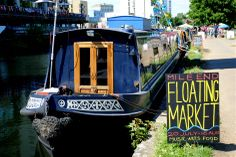 The Floating Market Image from LondonTown.com.....always something to do!
