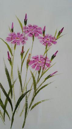 Watercolor Video, Watercolor Drawing, Watercolor Cards, Watercolor Flowers, Watercolor Paintings, Soft Pastel Art, Fabric Paint Designs, Hand Painted Fabric, Art Drawings Beautiful
