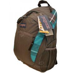 Jansport Wasabi 15 inch Laptop Backpack in Blue Gray Duke Plaid TYG69BX at OrlandoTrend.com #OrlandoTrend #Jansport #backpack