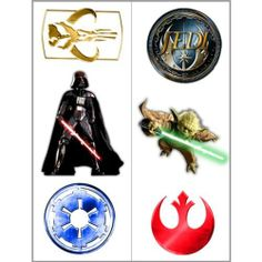 Star Wars Generations Tattoos Party Accessory by Hallmark. $1.10. Star Wars. Kids' Party Supplies. Includes (12) temporary tattoos.