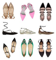 """""""Fall's most stylish flats"""" by cobaltandcocoa on Polyvore featuring Zara, MANGO, H&M, Jimmy Choo, Valentino, Alexander Wang, Topshop, Manolo Blahnik and Aquazzura Aquazzura, Manolo Blahnik, Alexander Wang, Jimmy Choo, Valentino, Mango, Topshop, Zara, Lace Up"""