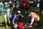 the fatal kick..
