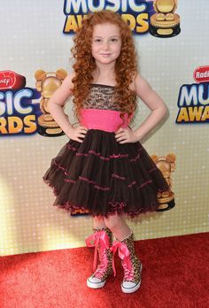 Actress Francesca Capaldi arrives to the 2013 Radio Disney Music Awards at Nokia Theatre L.A. Live on April 27, 2013 in Los Angeles, California.