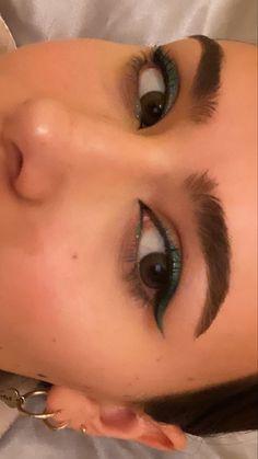 Edgy Makeup, Eye Makeup Art, Makeup Goals, Skin Makeup, Makeup Inspo, Makeup Inspiration, Beauty Makeup, Cool Makeup Looks, Cute Makeup