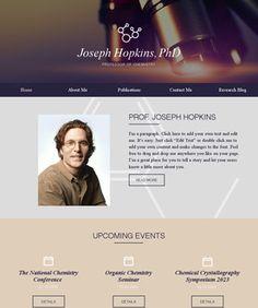 Scientist Website