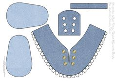 baby shoe template