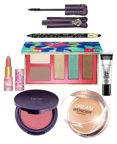 """""""Everyday Perfection"""" by audreyjellycat ❤ liked on Polyvore featuring beauty, tarte, Maybelline and Smashbox"""