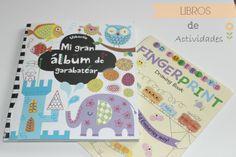 Libros de actividades infantiles
