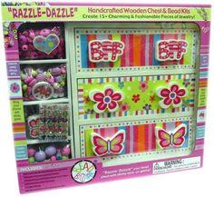 bead bazaar wooden chest and bead kits