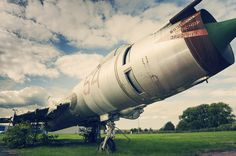Old Russian Jet at Aviation Park near Chester