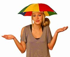 328d288e597 1 2 or 4 Foldable Novelty Umbrella Hat Sun Hat Golf Fishing Festival Camping