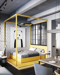 club 43 small apartment interior design The post 43 small apartment interior design apartment.club appeared first on Wohnung ideen. Small Apartment Design, Small Apartment Living, Small Room Design, Small Apartment Decorating, Small Living Rooms, Small Apartments, Bedroom Apartment, Small Spaces, Apartment Ideas
