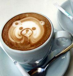 Teddy bear hot chocolate ♥