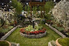 Preview day at the Philadelphia Flower Show on Friday, March 1, 2013.