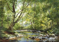 michael satarov art paintings landscape