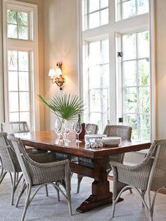 Trestle Farm Table Design, Pictures, Remodel, Decor and Ideas