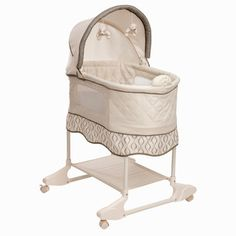Safety 1st Nod-A-Way Bassinet in Waves | Overstock.com Shopping - Big Discounts on Safety 1st Bassinets