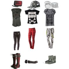 """""""abbey dawn outfits part 1"""" by avril-lavigne-fan-forever on Polyvore"""