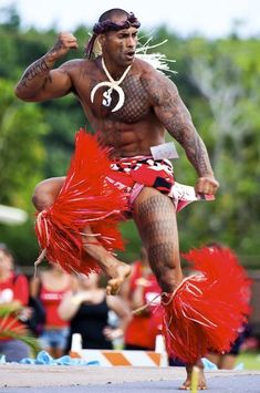 Tahitian, Maori, Samoan and Hawaiian dancing, culture