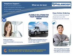 Balanced Logistics Inc. Shipping freight to / from Canada and the USA.