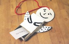 MAKE AN ANGEL CHRISTMAS WISH ORNAMENT ... Christmas is about hopes, dreams beliefs and of course presents! Do you ask your little ones what would they want from Santa each year or do they write him a letter? Everyone has their traditions and we came up with our own: let your kids put their Christmas wish-lists inside of a DIY angel ornament which will not only decorate your Christmas tree but also keep your wishes in secret, only for Santa's eyes ;)