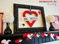 Love this idea for an empty frame