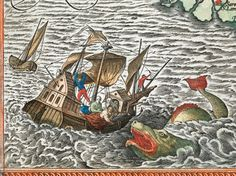 The Enchanting Sea Monsters on Medieval Maps | Collage of Arts and Sciences