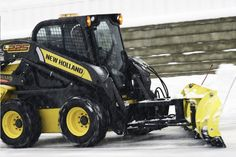 skid loader with snowplow - Google Search