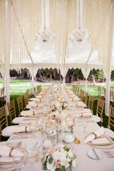 A Wedding at the Sugarman Estate by Belle Destination Events » Love Notes Wedding Blog - modern + elegant wedding in shades of blush, light pink, gold, and white