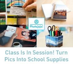 DIY School Supply Photo Projects