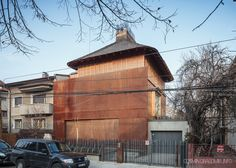 an exquisite house hidden in the heart of Bucharest