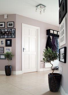 Hallway-photo gallery and sitting room door by R_okoko20, via Flickr