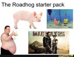 overwatch, roadhog, starterpack