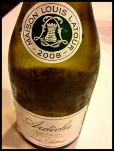 El Alma del Vino.: Louis Latour Ardèche Chardonnay 2008.