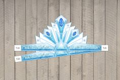 Disney's Frozen Princess printable crown.  Just download, print and cut!
