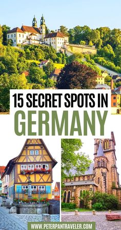 15 Secret Spots in Germany. Check out these 15 Hidden Gems in Germany with amazing historical landmarks, beautiful natural landscapes, and global travel destinations . Hidden Gems in Germany   Germany Hidden Gems   Secret Spots in Germany   Secret Places in Germany   Pretty Places in Germany   Beautiful Places in Germany   Things to do in Germany   Germany Travel Guide   Germany Travel Tips   Best Things to see in Germany   #germany #traveltips #travel Road Trip Europe, Places In Europe, Europe Travel Guide, Travel Destinations, Visit Germany, Germany Travel, European Vacation, European Travel, Travel Ideas