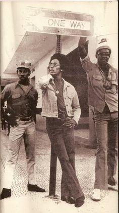 Bunny Livingston, Bob Marley, Peter Tosh: The Wailers